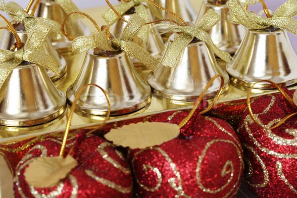 Noël décorations coup coloré lumière Photo stock © klauts