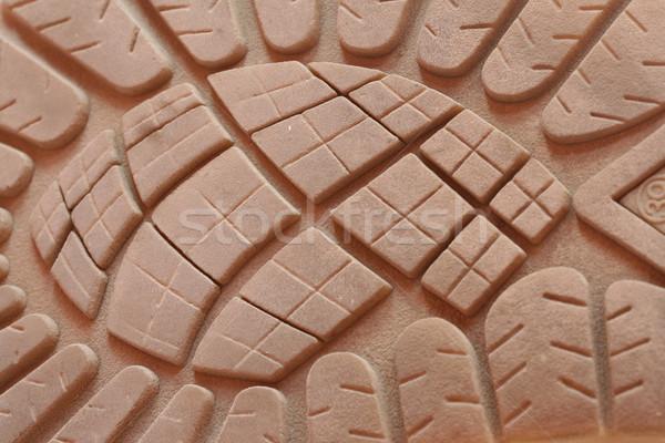 Macro coup caoutchouc chaussures texture mode Photo stock © klauts
