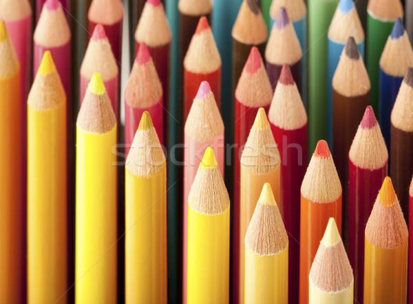 Colored pencils Stock photo © klikk