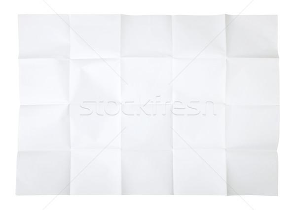 Blank map Stock photo © klikk