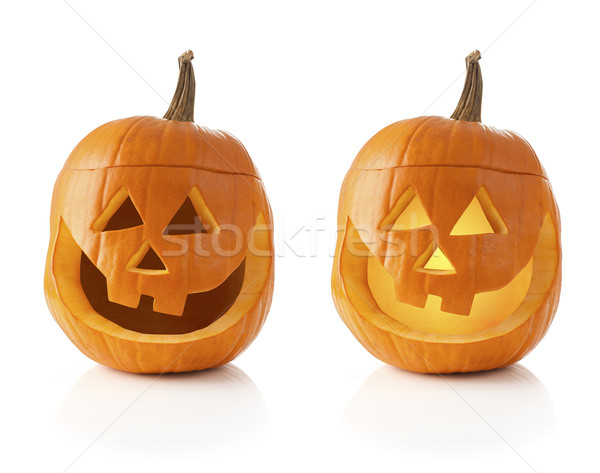 Halloween pumpkins  Stock photo © klikk