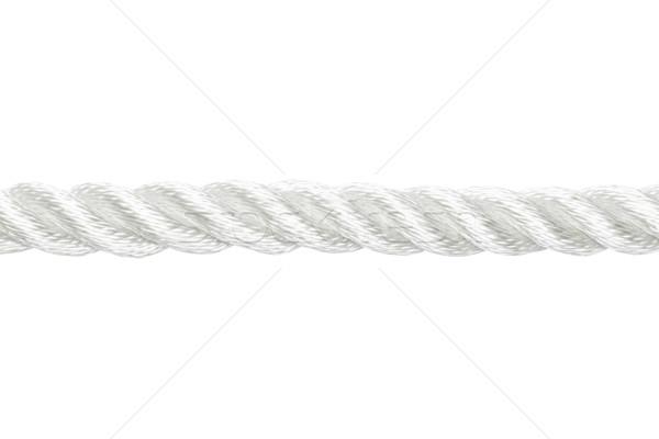 веревку сильный нейлон изолированный белый Сток-фото © klikk