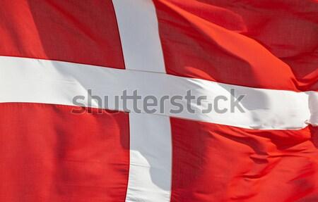 Danish national flag Stock photo © klikk