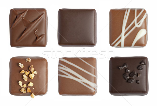 Stock photo: Fine chocolate isolated