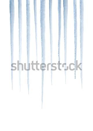 Igazi izolált fehér fénykép nem 3d render Stock fotó © klikk