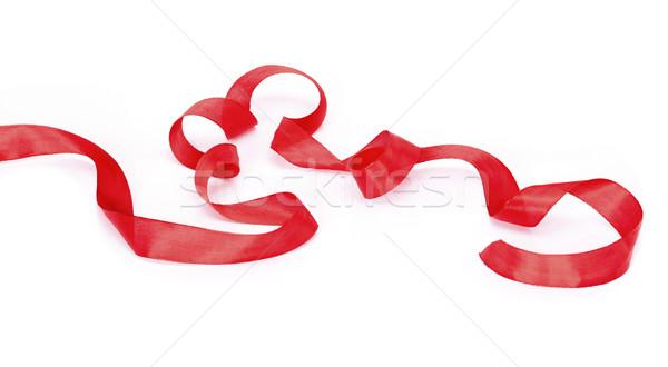 red ribbon Stock photo © klikk