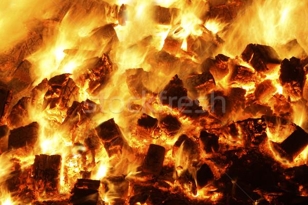 charcoals Stock photo © klikk
