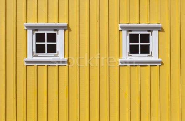 Yellow wall Stock photo © klikk