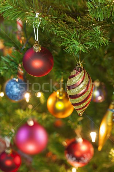 Christmas ornaments Stock photo © klikk