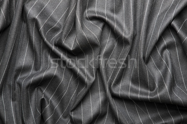 Pin striped suit texture Stock photo © klikk