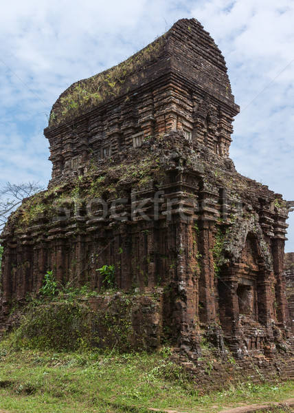 Most iconic structure of My Son Cham towers. Stock photo © Klodien
