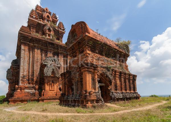 Deux cinquième colline Viêt-Nam impressionnant Photo stock © Klodien