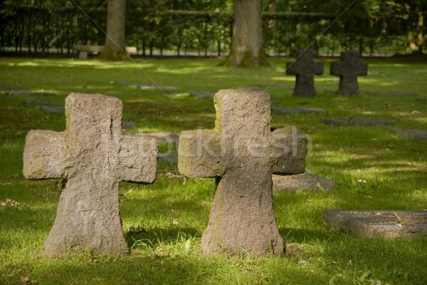 Cimetière guerre paix morts lutte champs Photo stock © Klodien