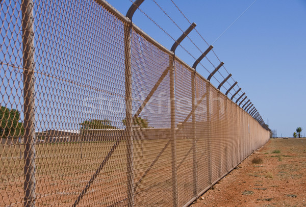 Nasty Fence. Stock photo © Klodien
