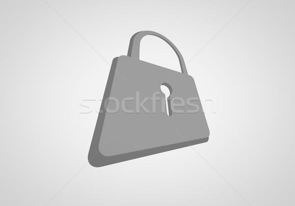 ロック アイコン 観点 表示 ビジネス インターネット ストックフォト © klss