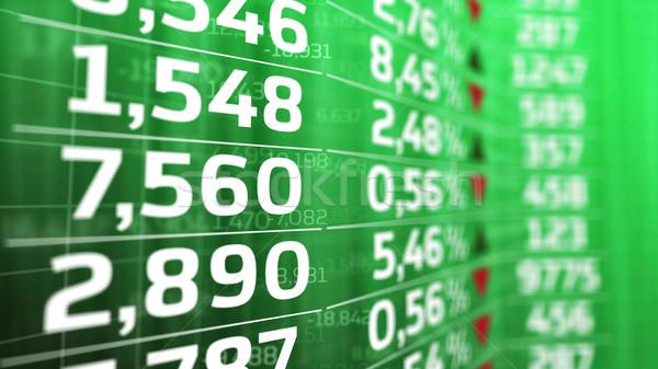 Zdjęcia stock: Giełdzie · cena · zielone · Widok · streszczenie · komputera