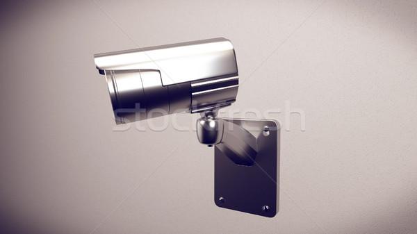 ビッグ 弟 3D レンダリング セキュリティ cctv ストックフォト © klss