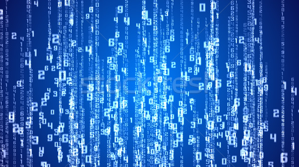 Matrix blau Computer Textur Sicherheit Stock foto © klss