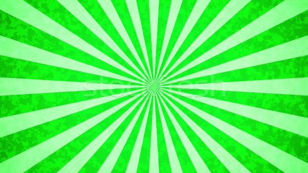 ヴィンテージ 緑 テクスチャ 日没 デザイン 夏 ストックフォト © klss
