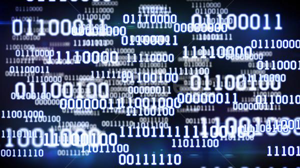 Abstract binary code. Stock photo © klss