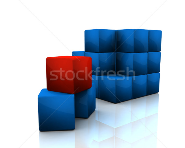 Cubes Stock photo © klss