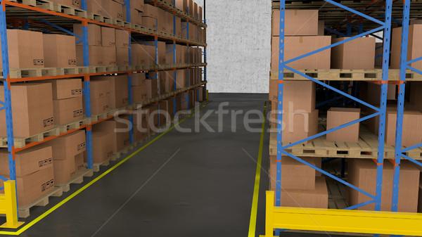 Entrepôt stockage affaires espace Photo stock © klss