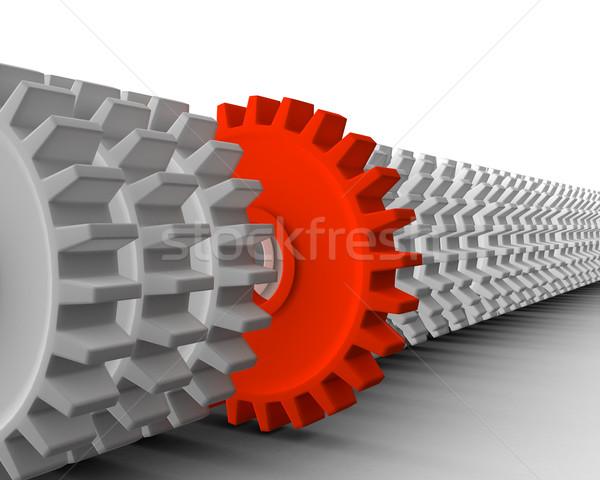 Główny inny 3d narzędzi działalności metafora Zdjęcia stock © klss