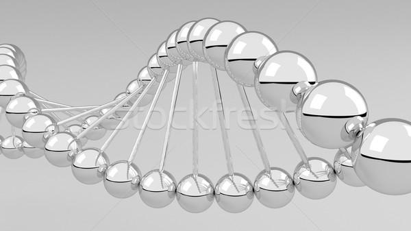 Digitale illustratie dna structuur 3D medische technologie Stockfoto © klss