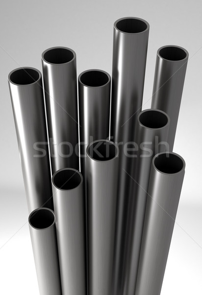 Metal tubes. Stock photo © klss