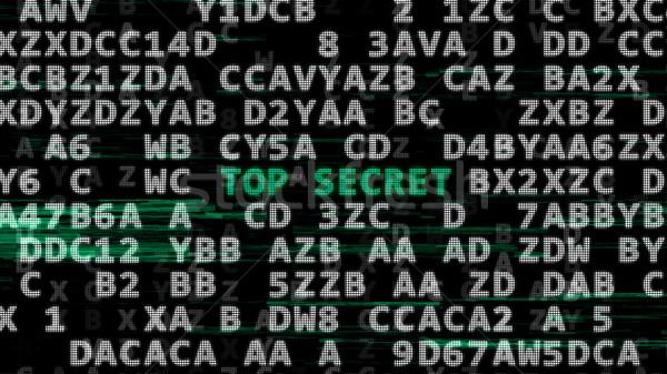 先頭 秘密 緑 言葉 データ コード ストックフォト © klss