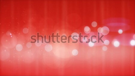 Abstract red particles background Stock photo © klss
