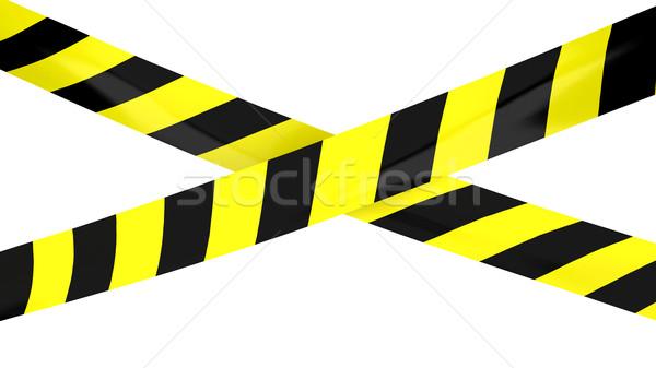 Barrier tape. Stock photo © klss