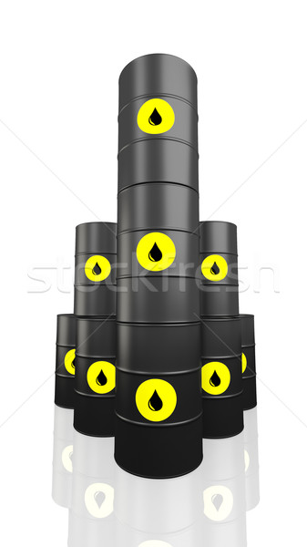 Oil barrel Stock photo © klss