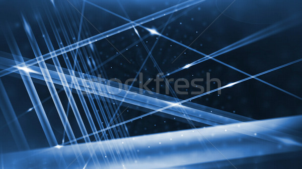 Optical fibers animation  Stock photo © klss