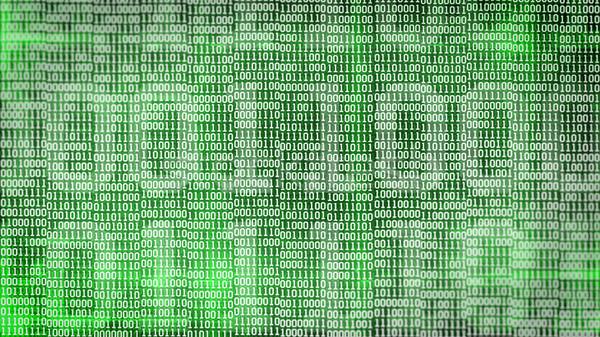 Bináris kód képernyő asztal zöld számítógép internet Stock fotó © klss
