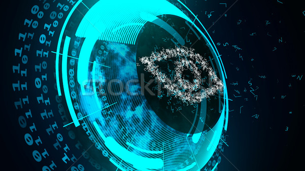 Internet technology security concept. Stock photo © klss