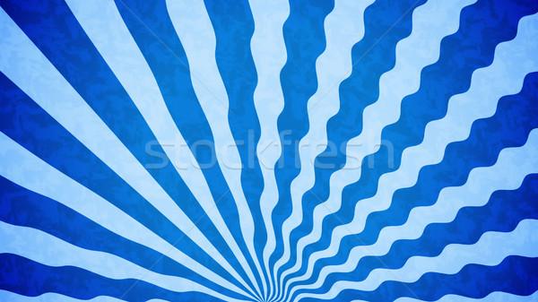 Vintage синий небе аннотация природы свет Сток-фото © klss