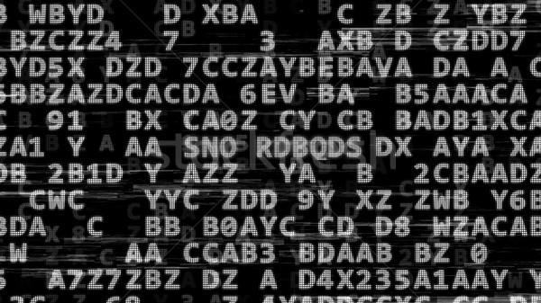 Abstrato dados código segurança tecnologia ilustração 3d Foto stock © klss