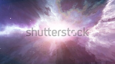 Stockfoto: Explosie · abstract · star · planeet · Galaxy