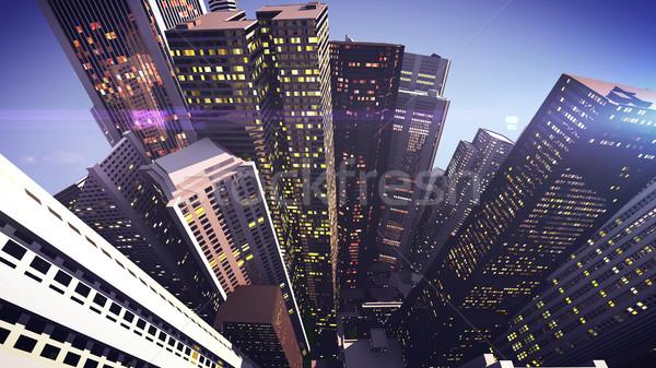 Skyscrapers Stock photo © klss