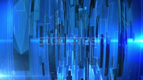 Technologie abstract business wereldbol wereld Stockfoto © klss