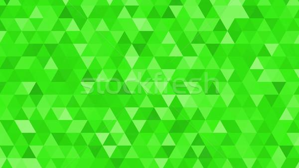 аннотация различный зеленый Desktop форме мозаика Сток-фото © klss