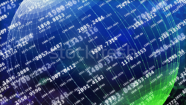 Big data concept Stock photo © klss