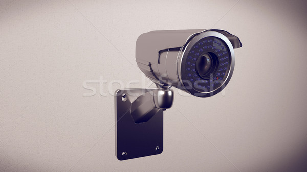 Security cameras frontal view Stock photo © klss
