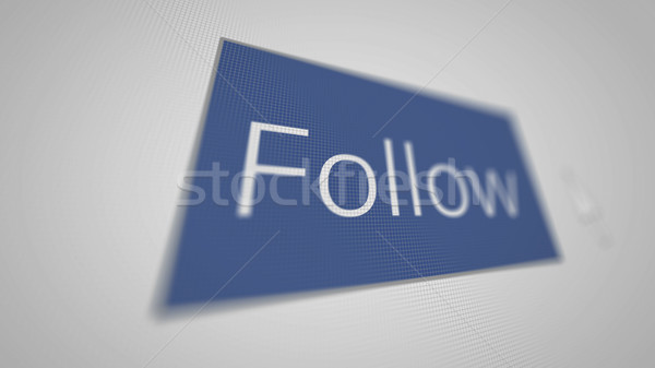 кнопки области иллюстрация друзей знак синий Сток-фото © klss