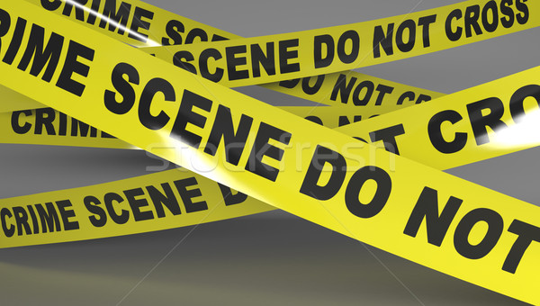 Crime scene tape. Stock photo © klss