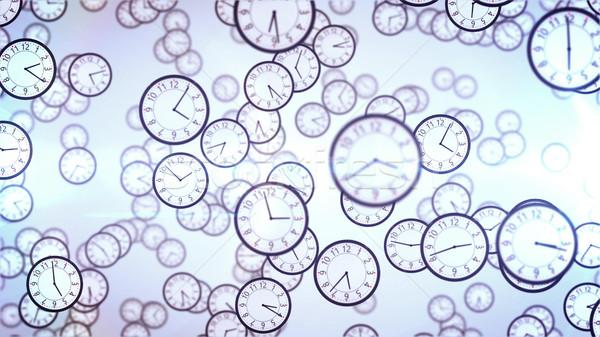 Clock faces.  Stock photo © klss