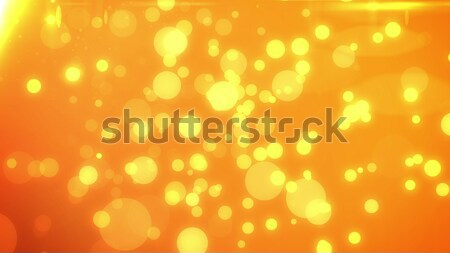 粒子 実例 抽象的な オレンジ ぼけ味 ストックフォト © klss