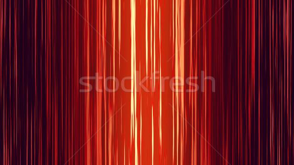 Rayé résumé illustration rouge couleur design Photo stock © klss