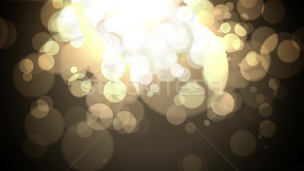 Noel bağbozumu parlak ışıklar bokeh ışık Stok fotoğraf © klss